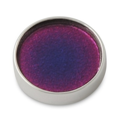 Top Silber Acyl rund 14mm color infusion lila