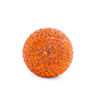 Kristall Klangkugel, 17mm, orange