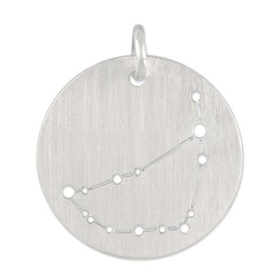 Sternzeichen Steinbock, Anhänger ohne Kette, 16 mm