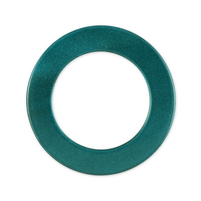 LOOP Ring Acryl - 23mm/34mm - turquoise