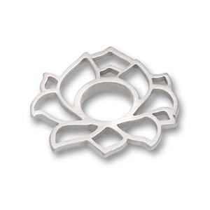 Scheibe Lotus offen 21 x 21 mm