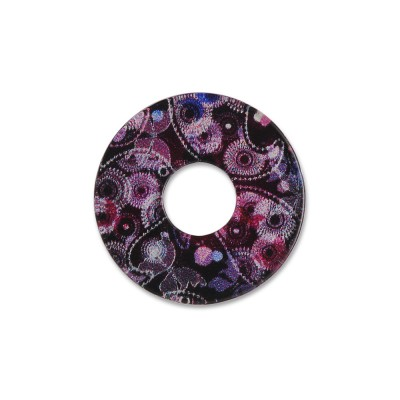 Acryl Scheibe 22mm purple maniac