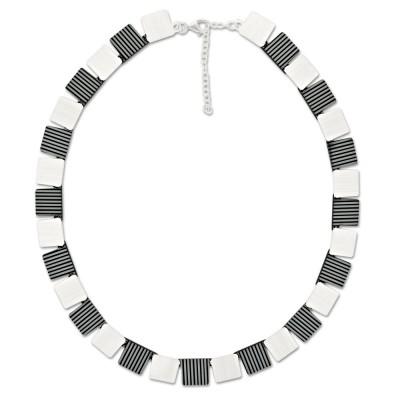 LEVEL4 Collier Quad schwarz/gestreift X Elemente
