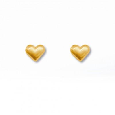 Ohrstecker Herz Julia supermini plattiert