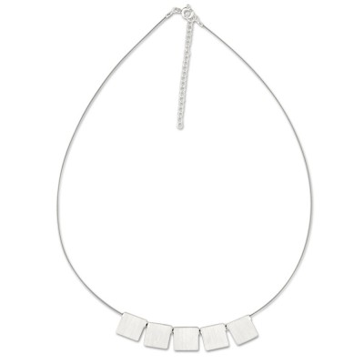 LEVEL4 Light-Collier Quad Silber