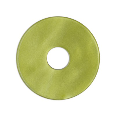 Scheibe Aquarell acryl 28mm olivgrün***