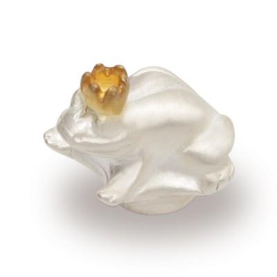 Top Frosch mit Krone, 13mm