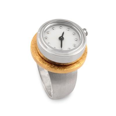 Ring-Kombination Uhr