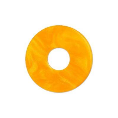 Scheibe Aquarell acryl 22mm orange
