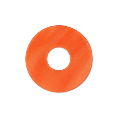 Scheibe Aquarell acryl 22mm rotorange