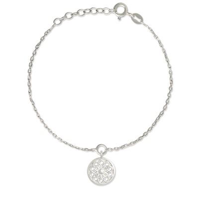 Armkette Traumfänger 14mm Silberkette