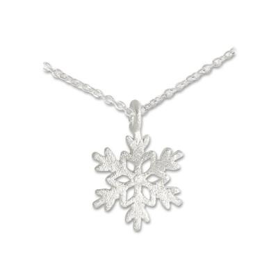Anhänger Snowflake inkl. Silberkette