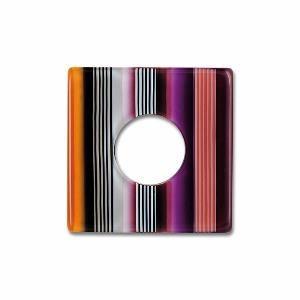 Color Scheibe Acetat Quadr., Funk, 18mm