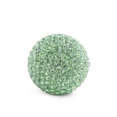 Kristall Klangkugel, 17mm, grün