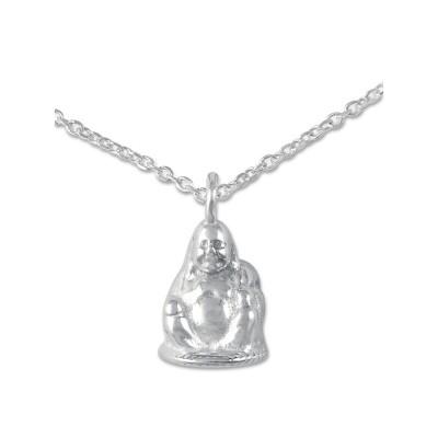 Anhänger Buddha inkl. Silberkette