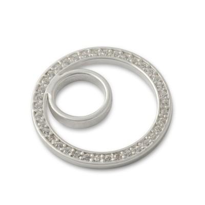 Scheibe circle 21mm Zirkonia Asym
