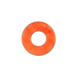 Scheibe Aquarell acryl 16mm rotorange